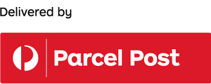 Delivery via Prepaid Parcel Post satchel (anywhere in Australia)
